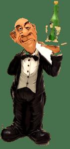 """""""Herr Kellner, in dem Kirschkuchen sind ja gar keine Kirschen !"""" """"Ja ist doch klar! In einem Hundekuchen sind ja auch keine Hunde!"""""""