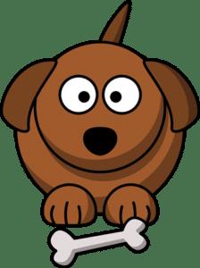 Was bestellen Hunde in einem Restaurant? Eine Portion Bellkartoffel!