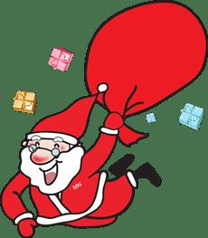 Perverse Witze der hier ist gut:Warum hat der Weihnachtsmann einen so großen Sack? Weil er nur einmal im Jahr kommt.