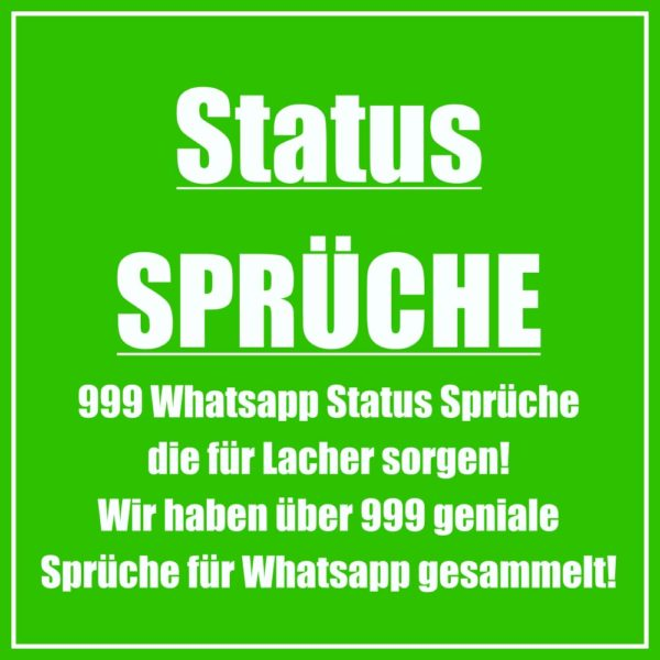 Kluge whatsapp status sprüche